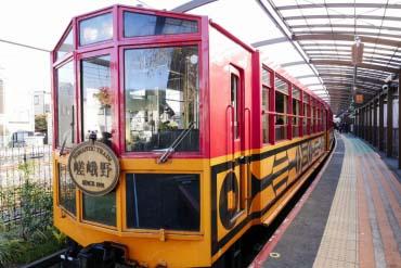 嵯峨野观光列车(京都)