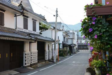 White Wall District of Chikugo-Yoshii