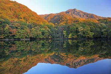 十二湖(鶏頭場の池)