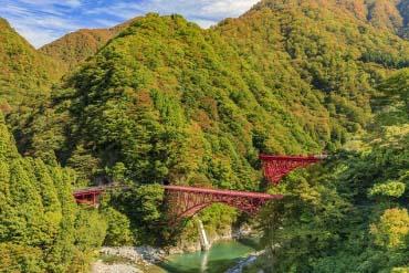 黑部峡谷铁道(富山)