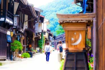 Khu phố Narai-juku(Nagano)