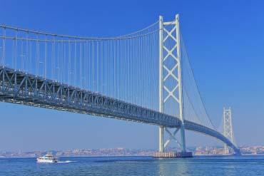Akashi-Kaikyo Bridge(Hyogo & Kobe)