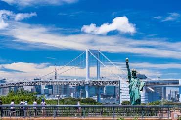 お台場 レインボーブリッジ(東京)