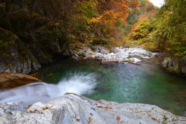 Ojiragawa Valley(Yamanashi)