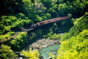 嵯峨野观光列车