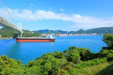 关门海峡(福冈、博多)