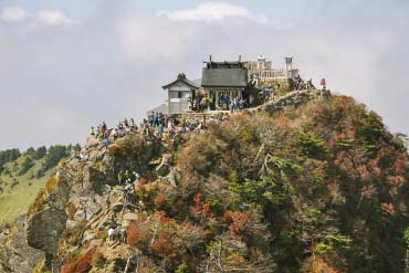 Ishizuchi Shrine (Top Shrine)