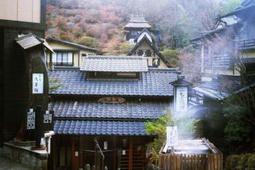 Suối nước nóng Kurokawa(Kumamoto)