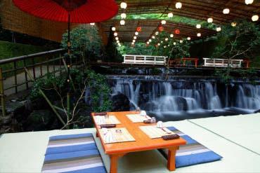 鸭川纳凉床(京都)