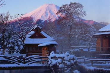 Làng cổ Oshino Hakkai(Fuji san)