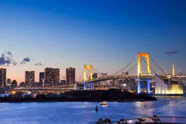 Cầu Rainbow Odaiba