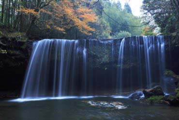 锅瀑布(熊本 )