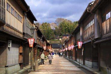 Đường Higashi Chaya(Kanazawa)