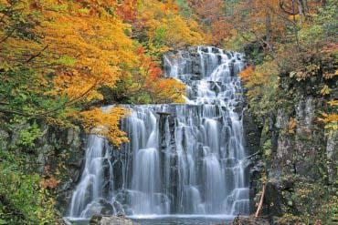 立又溪谷 二瀑布
