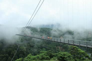"""Kokonoe """"Yume"""" Otsurihashi Bridge(Oita & Beppu)"""
