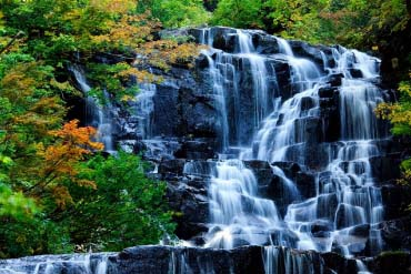 立又溪谷 二瀑布(秋田)