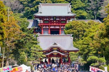 鹤冈八幡宫(镰仓)