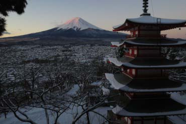 新仓山浅间公园(富士山)