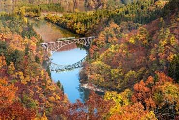 第一只见川桥梁(福岛)