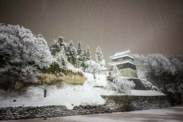 The Ruins of the Ueda Castle Park(Nagano)