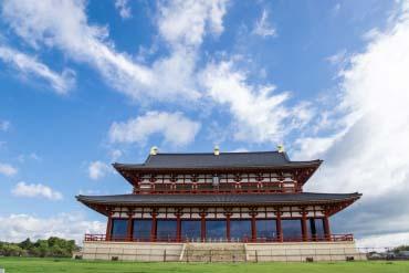 Heijo Castle Remains / Peninggalan Kastil Heijo