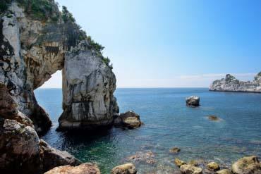 白崎海洋公園の白崎海岸(和歌山)