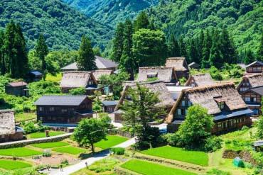 The Historic Village of Gokayama(Toyama)