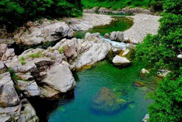 Itadori River(Gifu)