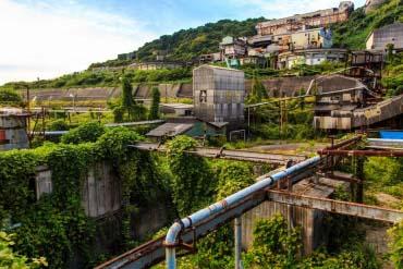 池島炭鉱跡(長崎)