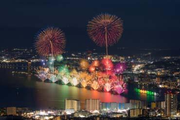 びわ湖大花火大会(滋賀・琵琶湖)