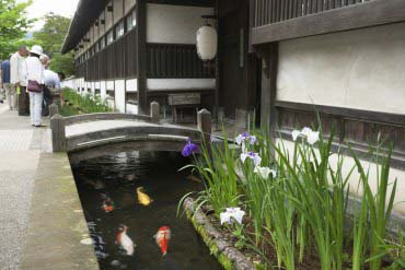 Tonomachi Street in Tsuwano