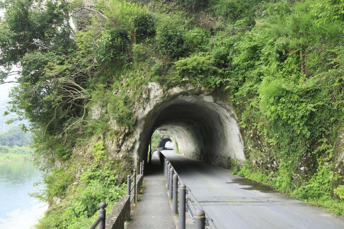 耶马溪 青之洞门