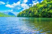 Lake Yunoko and Mount Nantai