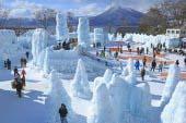 Chitose and Lake Shikotsu Ice Festival