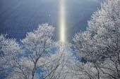 摩周湖太阳柱