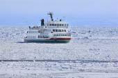 破冰船 網走流冰