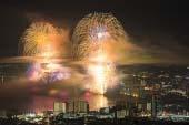 琵琶湖大烟火大会