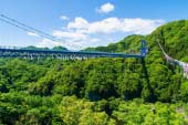 Ryujin Big Suspension Bridge