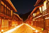 奈良井宿アイスキャンドルまつり